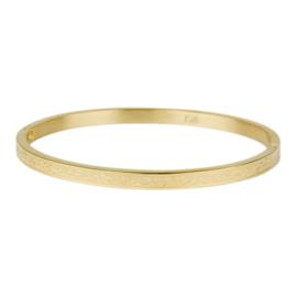 Kalli Kalli armband 2137- 4 mm - goud 58 mm