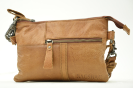 Bag2Bag - Dames schoudertas Kansas - cognac brown