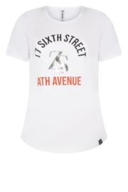 Zoso T-shirt with print - 213 Sixth White