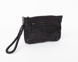 Bag2Bag Limited Edition - Dames schoudertas/clutch Rubia black