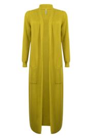 Zoso comfy long cardigan - 215 Romy - spice yellow