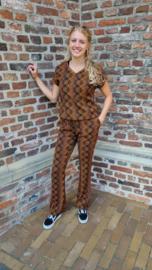 N.E.D. Top Shirt Nox LS Fudge spiral Woven