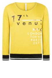 Zoso shirt with print - 215 Paris - spice yellow