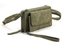 Ook leuk - Schoudertas / portemonnee - groen