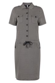Zoso Printed sporty dress - 212 Maud Navy / white