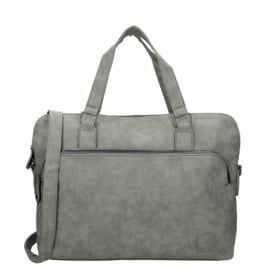 Enrico Benetti schoudertas/laptoptas  sem  - grijs
