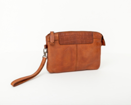 Bag2Bag -  Dames clutch / schoudertas Mora - cognac