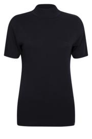 Zoso Luxe gebreide top Marnix 205 - black
