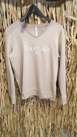 Zoso Sweater 204 Toi - zand / off white