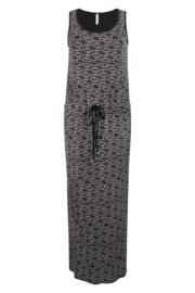 Zoso Allover printed maxi dress - 214 Maxi black white