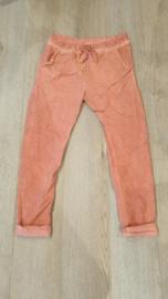 Triple Nine - Lange broek Orange