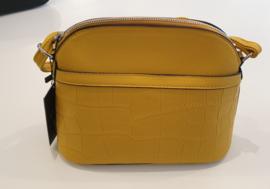 Giuliano - Dames schoudertas Yellow - geel