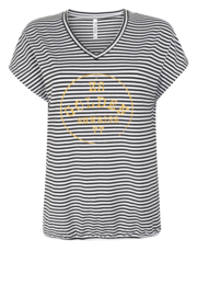 Zoso striped T-shirt  - 214 River Stripe Summergold