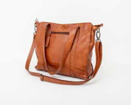 Bag2Bag -  Dames shopper/schoudertas Elvas - cognac