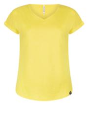 Zoso Coated T-shirt  - 213 Zaza  Yellow