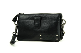 Bag2Bag - Dames schoudertas/clutch Dover black