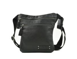 Bag2Bag - Dames heup/schoudertas Tepic - zwart