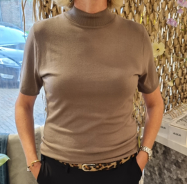 Zoso luxury knitted turtle - Marnix 215 - taupe