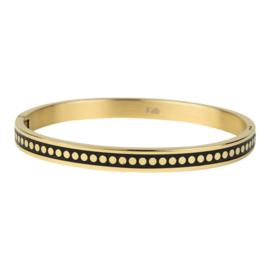 Kalli Kalli armband 2143- 6 mm - goud 58 mm
