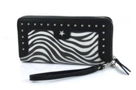 Ook leuk - Portemonnee - zwart wit zebra print