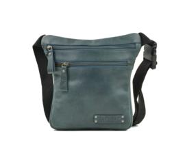 Bag2Bag - Dames heup/schoudertas Tepic - blauw