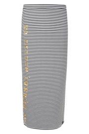 Zoso Striped skirt with print  - 214 Jill Summergold white