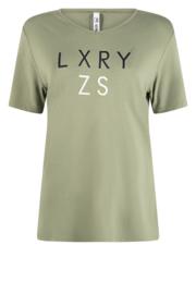 Zoso Shirt with print - 213 Dora green