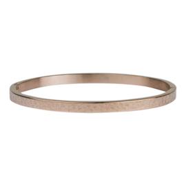 Kalli Kalli armband 2125- 4 mm - rose 58 mm