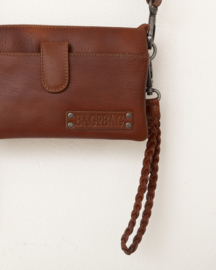 Bag2Bag - Dames schoudertas/clutch Dover cognac