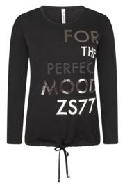 Zoso shirt with print - 215 Mood - black