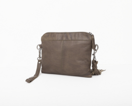 Bag2Bag - Dames schoudertas Wilora - Olive - Groen