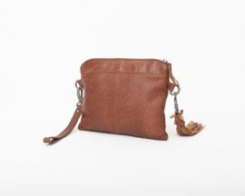 Bag2Bag - Dames schoudertas Wilora - Cognac