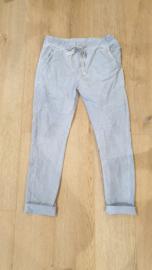 Triple Nine - Lange broek Grijs blauw