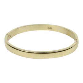 Kalli Kalli armband 2119- 6 mm - goud 58 mm