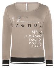 Zoso shirt with print - 215 Paris - taupe
