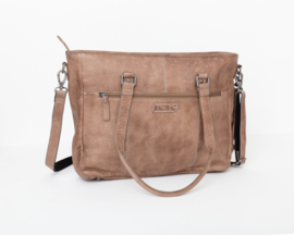 Bag2Bag - Dames schoudertas Kelsey grey