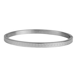 Kalli Kalli armband 2127 - 4 mm - zilver 58 mm.