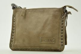 Bag2Bag - Dames schoudertas Joplin - taupe/grijs