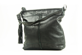 Bag2Bag - Dames schoudertas Melbourne - zwart