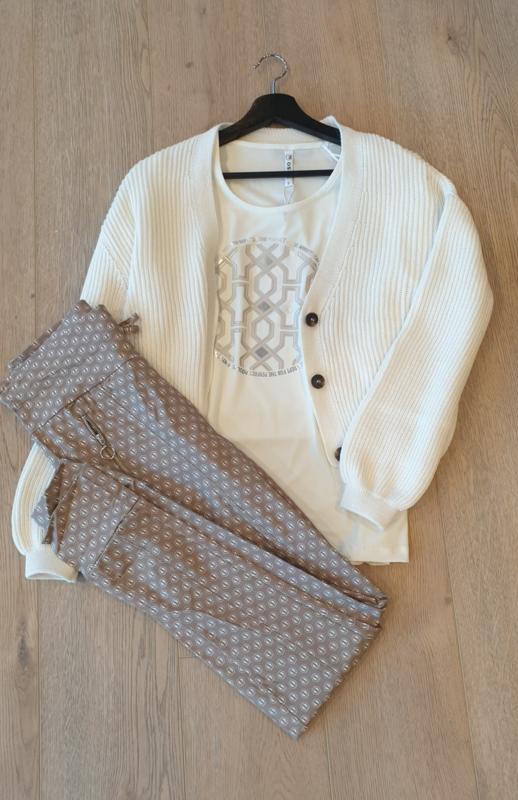 Zoso T-shirt splendour with print - 211 Marcella off white