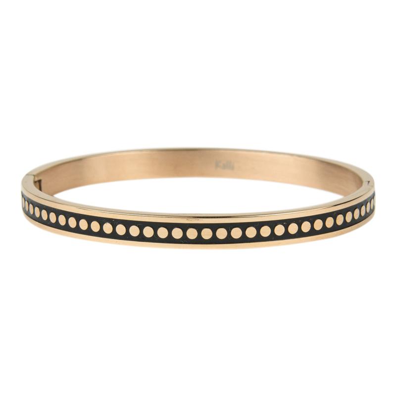 Kalli Kalli armband 2143- 6 mm - rose 58 mm