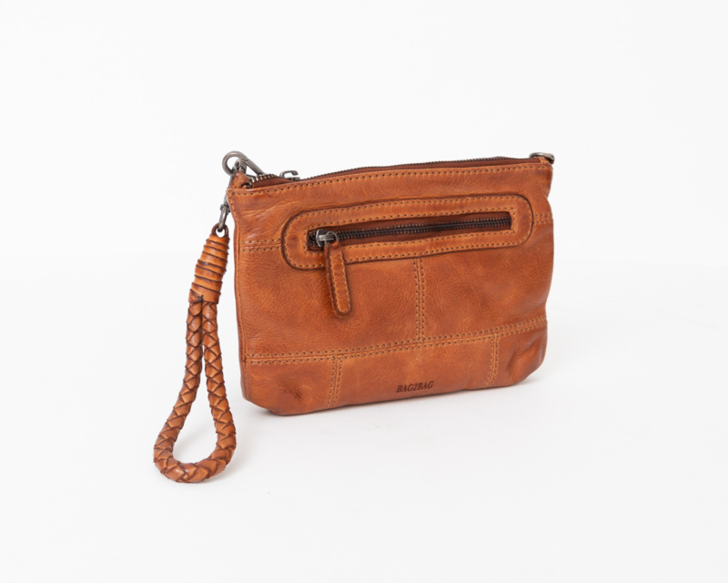 Bag2Bag Limited Edition - Dames schoudertas/clutch Rubia tan/cognac