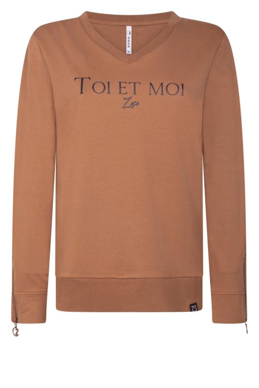 Zoso Sweater 204 Toi - zand / off white