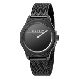 Esprit Magnolia Black Mesh Damenuhr 34mm