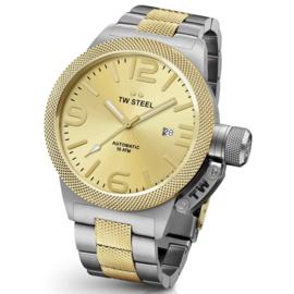 TW Steel CB55 Canteen Bracelet Automaat Horloge 45mm