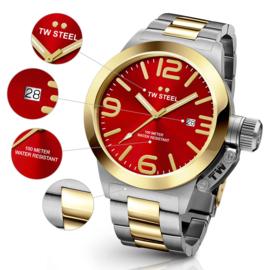 """TW Steel CB71 Canteen Bracelet Horloge 45mm """"DEMO """""""