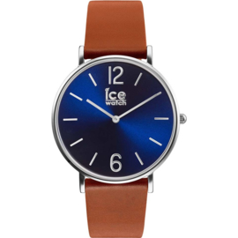Ice Watch City Tanner Caramel Blue horloge 36mm