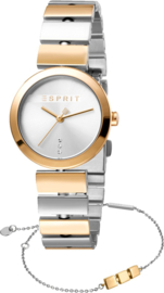 Esprit Bay Gold/Silver Set horloge 28 mm