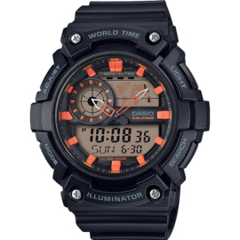 Casio Collection Wereldtijden Horloge AEQ-200W-1A2VEF 51mm