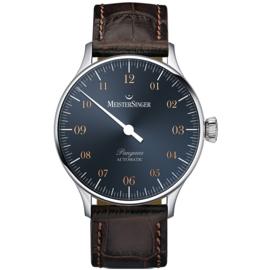 Meistersinger Pangea PM917G Horloge Automaat - 40mm